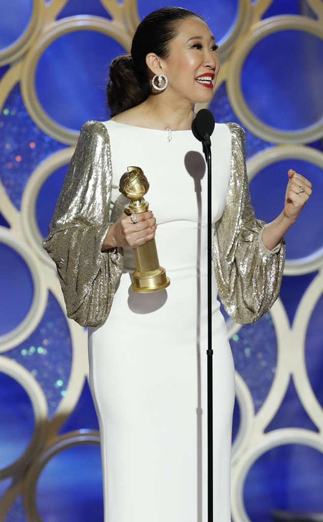 Sandra Oh, 2019 Golden Globes, Golden Globe Awards, Winners