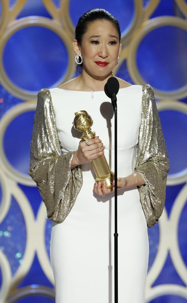 Sandra Oh, 2019 Golden Globes, Golden Globe Awards, Winners