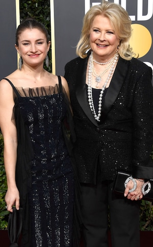 Candice Bergen and daughter, Golden Globe Awards