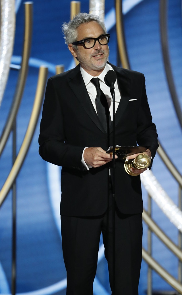 Alfonso Cuaron, 2019 Golden Globes, Golden Globe Awards, Winners