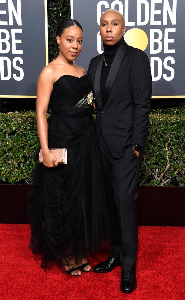 Alana Mayo, Lena Waithe, 2019 Golden Globes, Couples