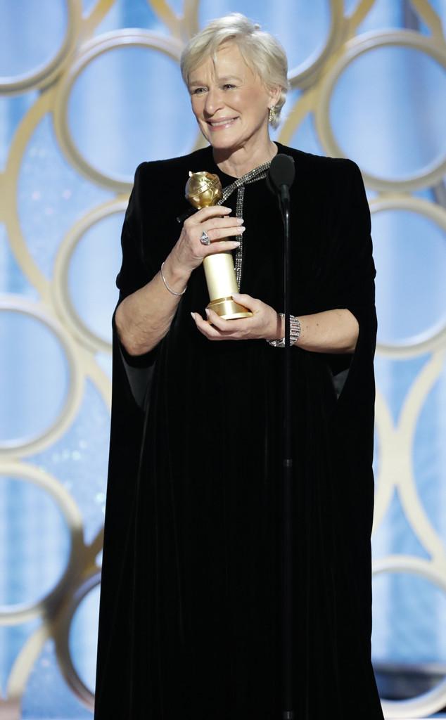 Glenn Close, 2019 Golden Globes, Golden Globe Awards, Winners