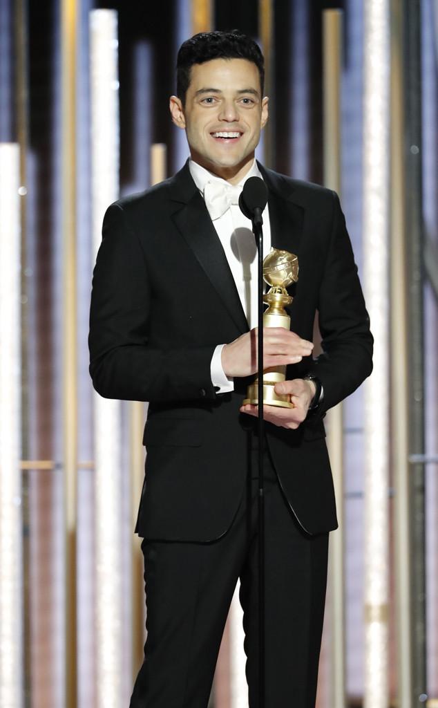 Rami Malek, 2019 Golden Globes, Golden Globe Awards, Winners