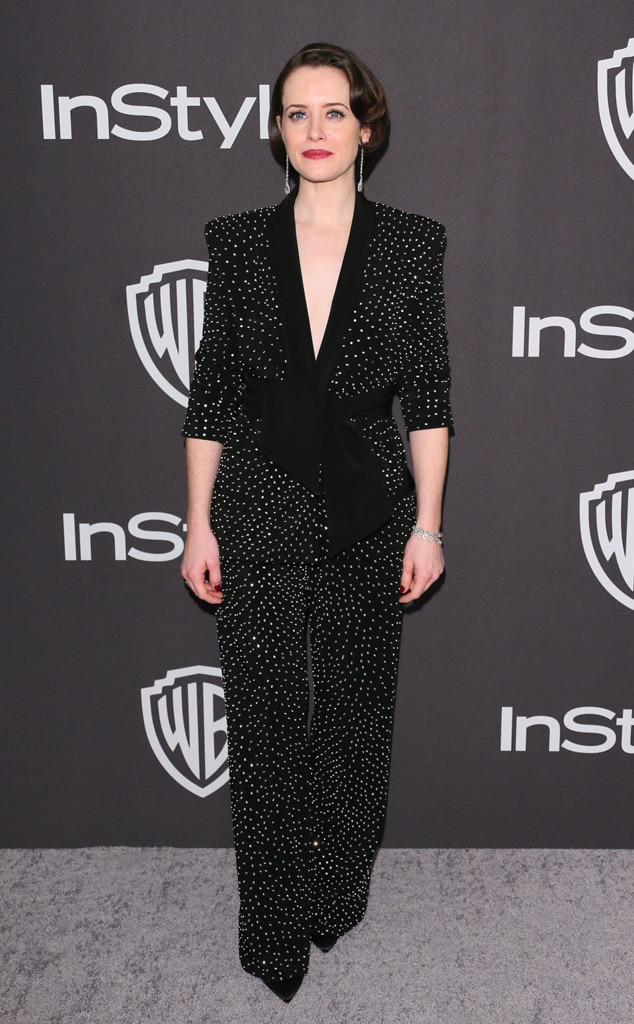 Claire Foy, 2019 Golden Globe Awards, After Party