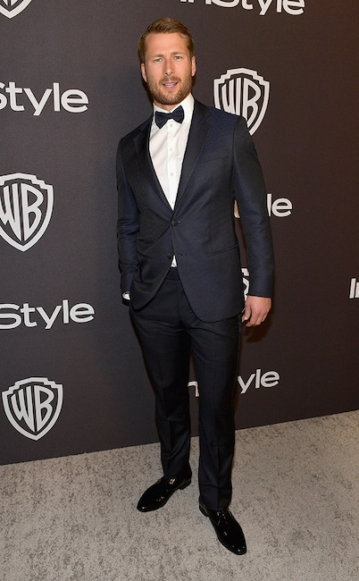 Glen Powell, 2019 Golden Globe Awards, After Party