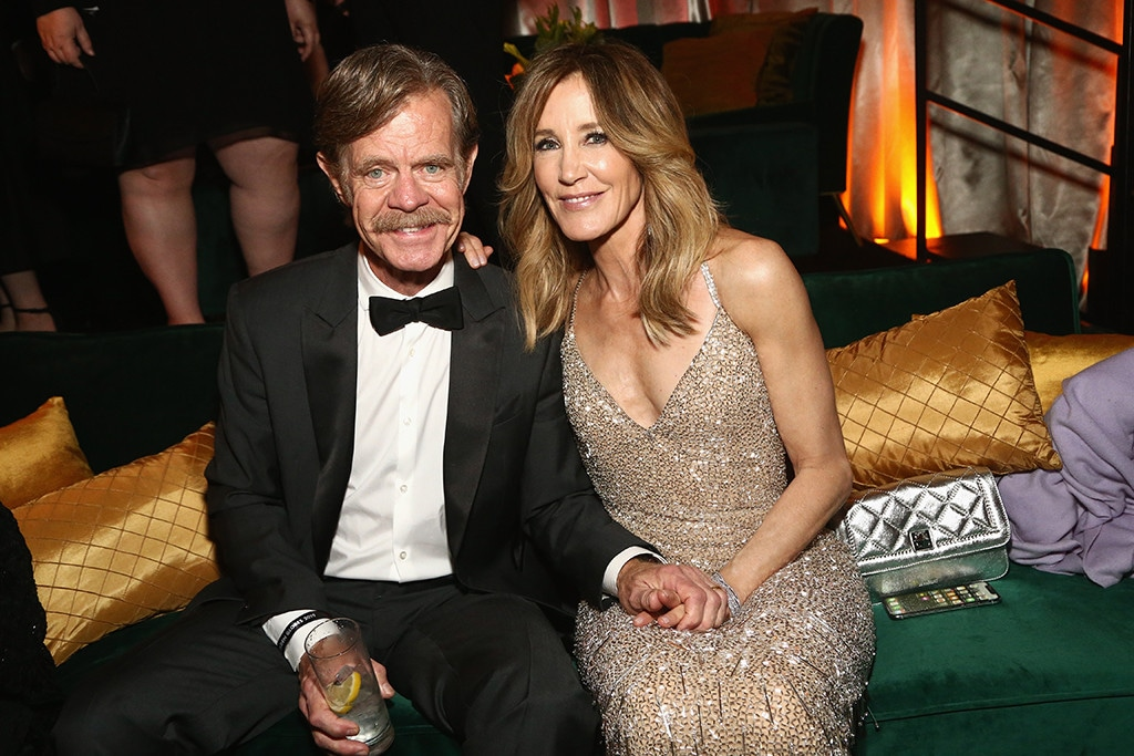 Felicity Huffman, William H. Macy, 2019 Golden Globe Awards, After Party