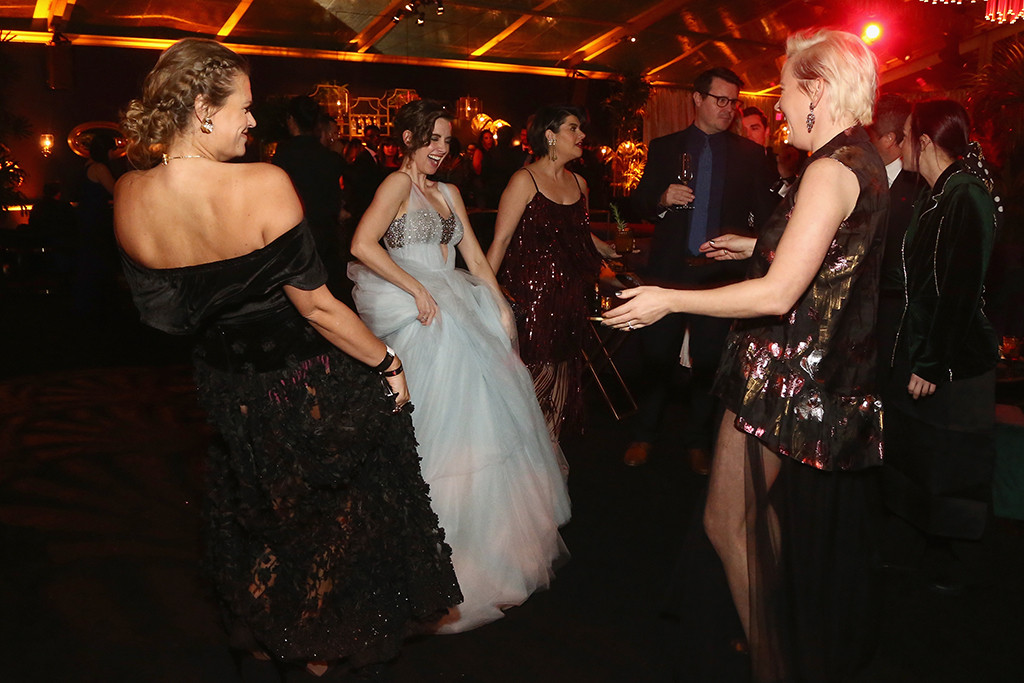 Marianna Palka, Alison Brie, Kimmy Gatewood, 2019 Golden Globe Awards, After Party