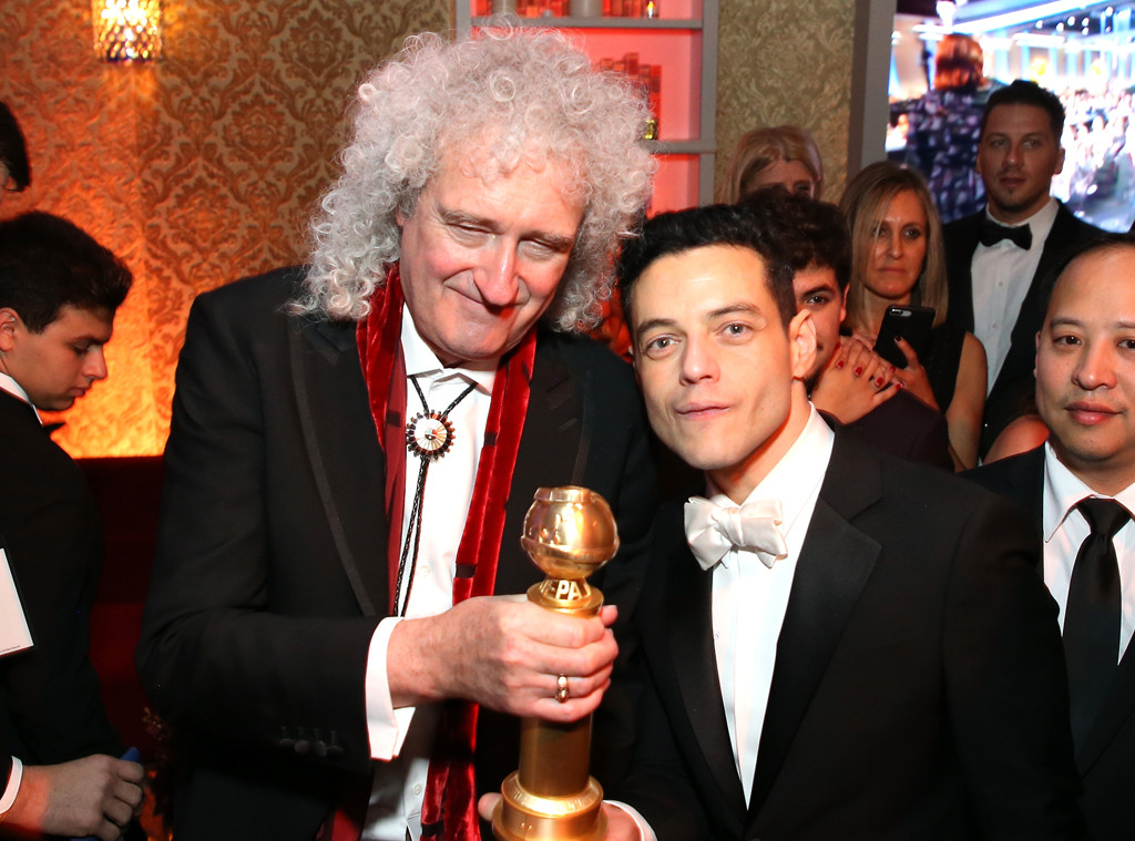 Brian May, Rami Malek, 2019 Golden Globe Awards, After Party