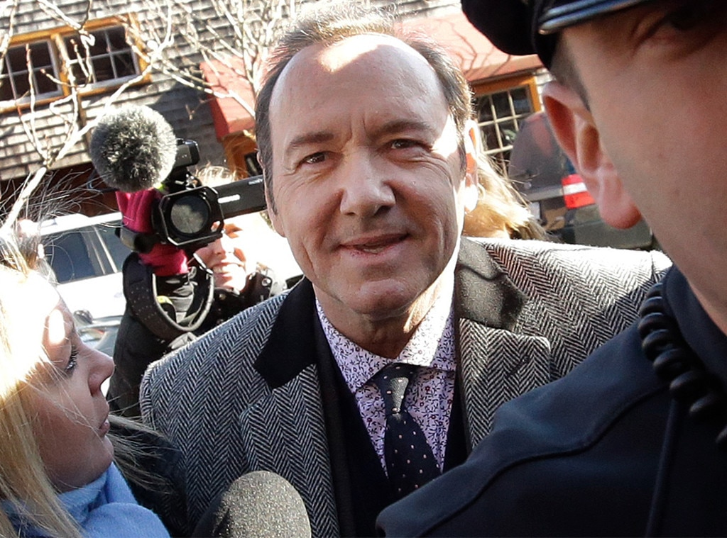 Kevin Spacey expected in court Monday to face sex assault charges