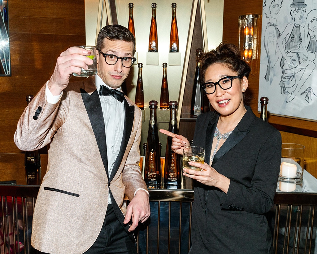 Andy Samberg, Sandra Oh, 2019 Golden Globe Awards, After Party