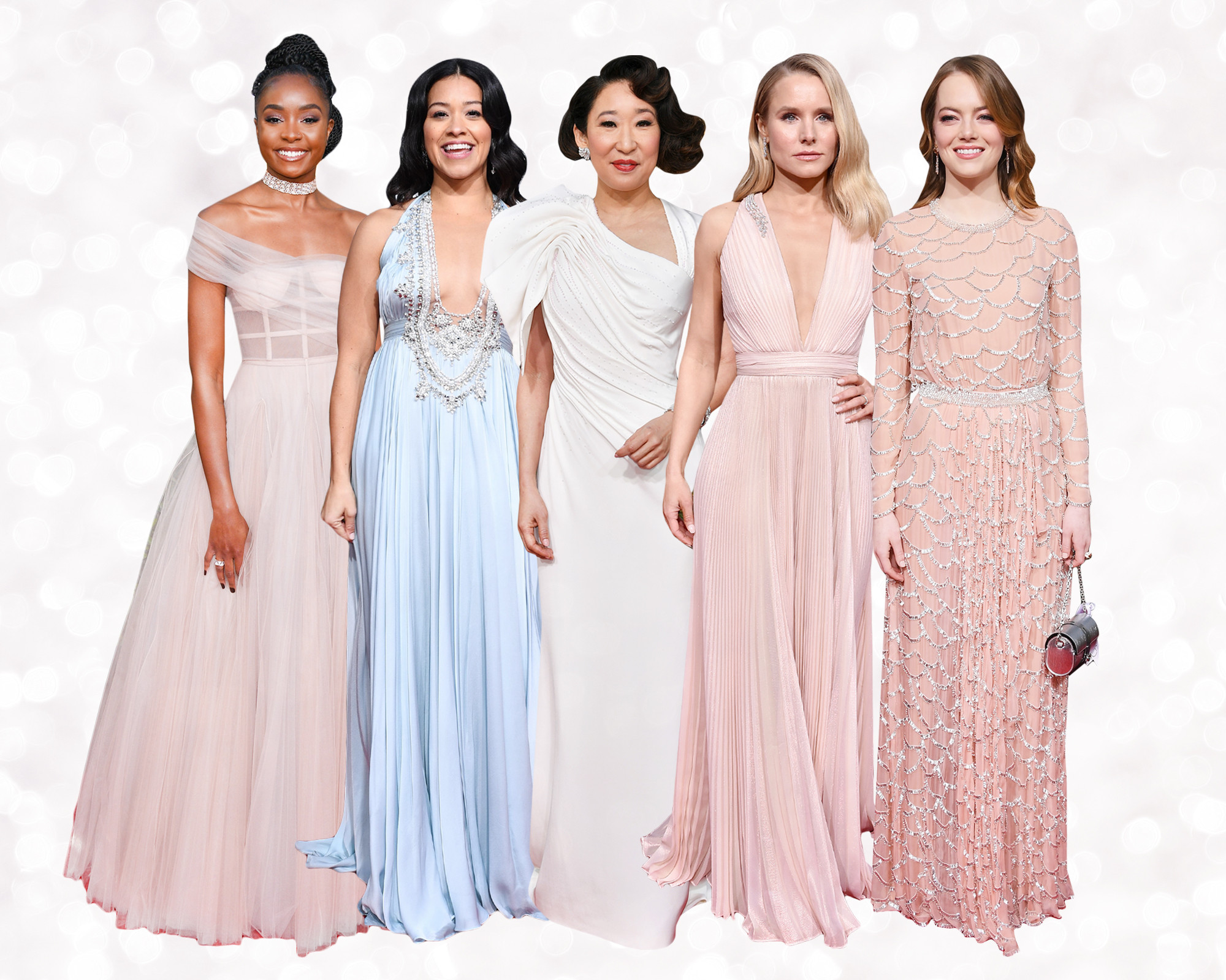 7 golden globes 2019 dresses that could be your wedding