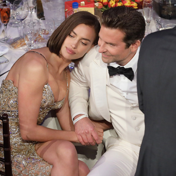 Irina Shayk, Bradley Cooper, 2019 Golden Globe Awards