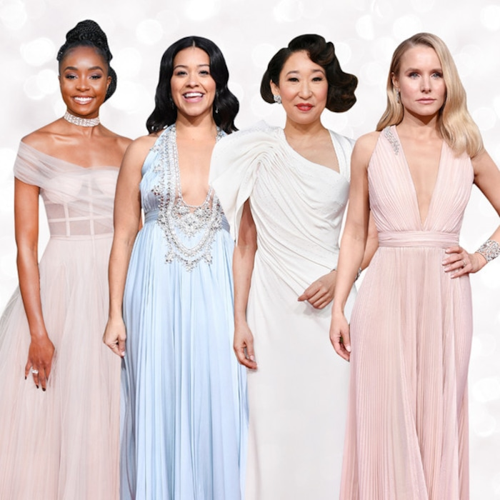 2d908b123 7 Golden Globes 2019 Dresses That Could Be Your Wedding Gown | E! News UK