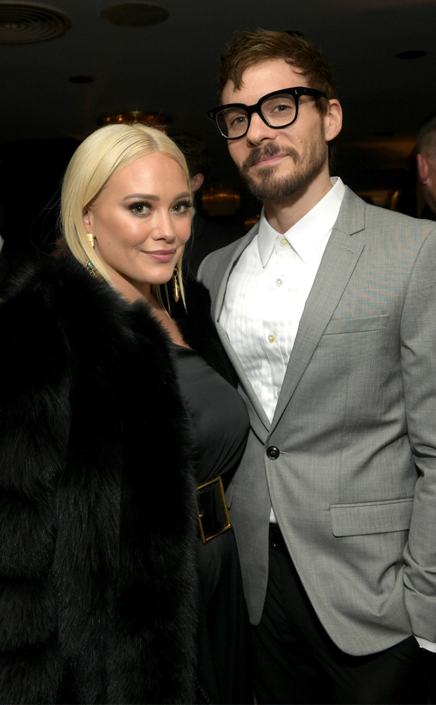 Hilary Duff, Matthew Koma, 2019 Golden Globe Awards, After Party