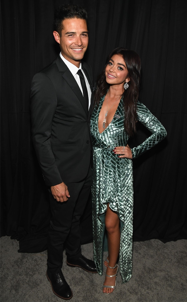 Wells Adams, Sarah Hyland, 2019 Golden Globe Awards, After Party