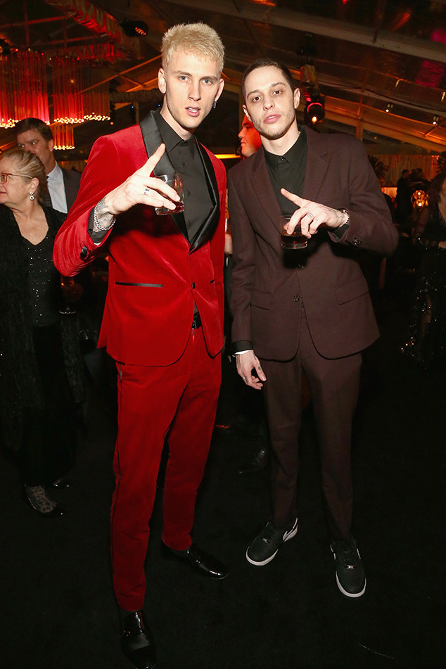 Machine Gun Kelly, Pete Davidson, 2019 Golden Globe Awards, After Party