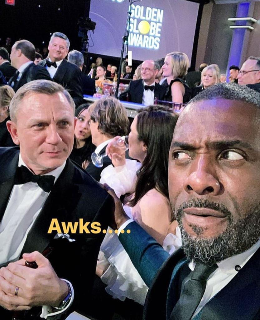 Daniel Craig, Idris Elba