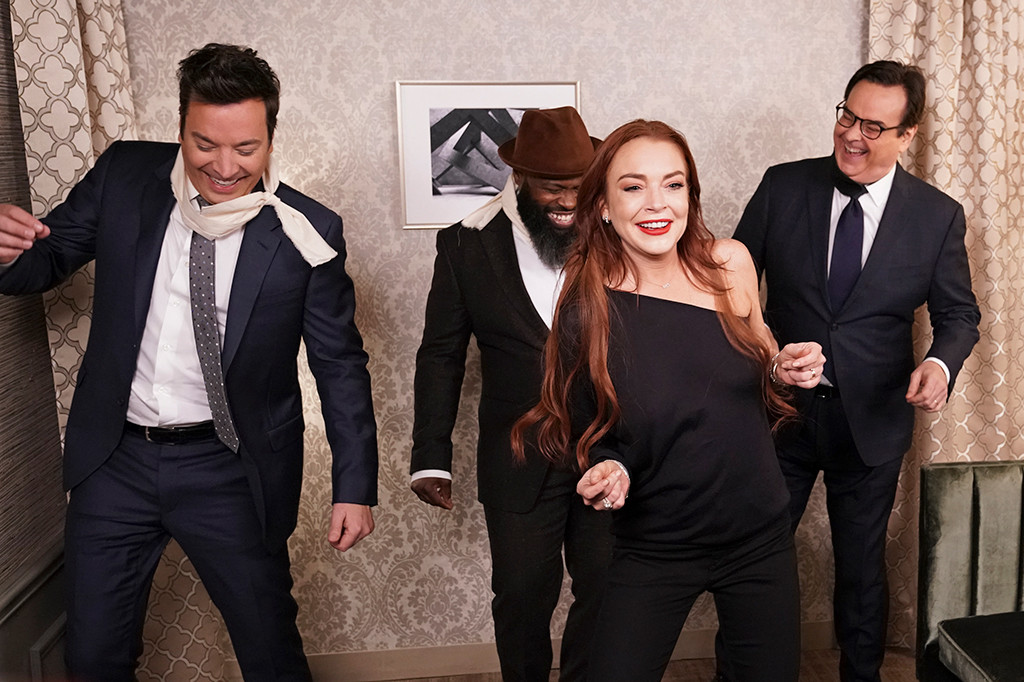 Lindsay Lohan, The Tonight Show Starring Jimmy Fallon