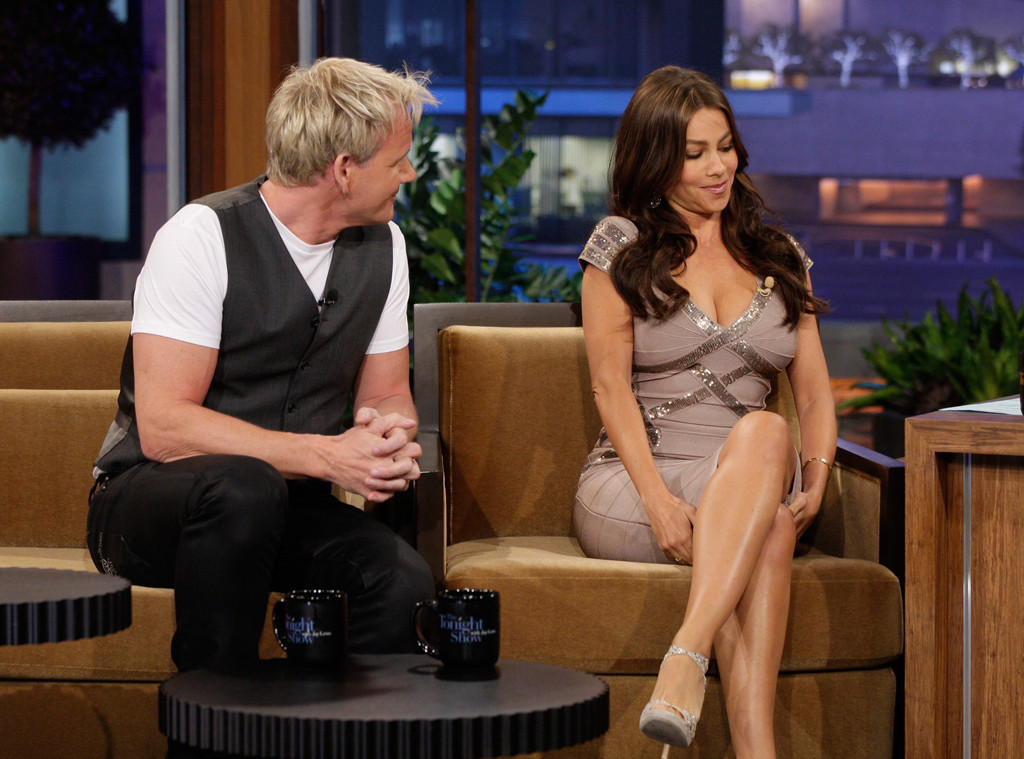 Chef Gordon Ramsay, Actress Sofia Vergara