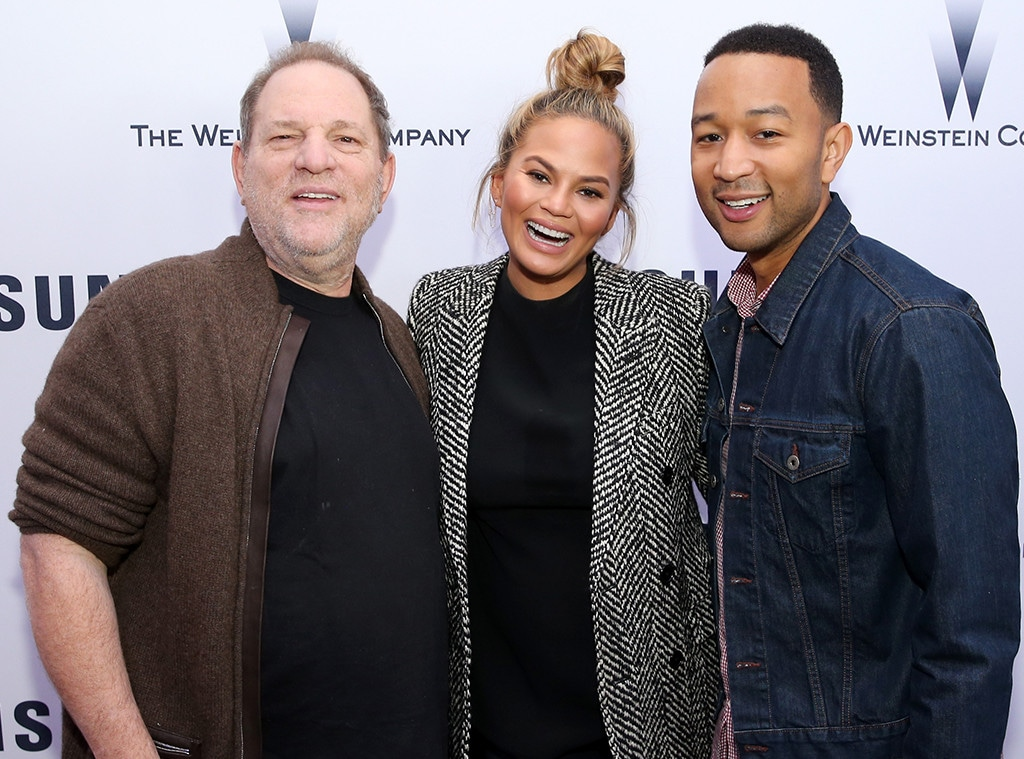Harvey Weinstein, Chrissy Teigen, John Legend