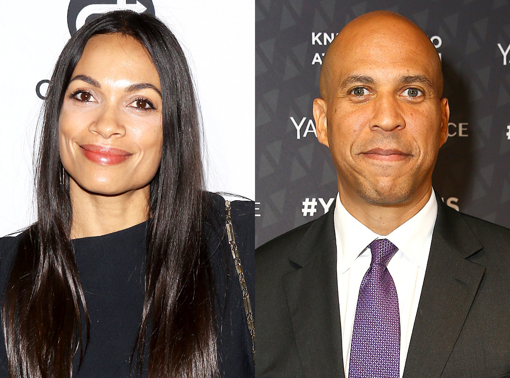 Rosario Dawson And Senator Cory Booker Spark Dating Rumors After