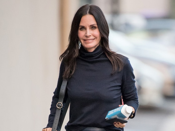 Courteney Cox Has an Epic <i>Friends</i> Reunion on Her 55th Birthday