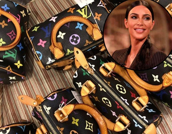 Kim Kardashian Gave Her Kids & Nieces Louis Vuitton Bags for Christmas