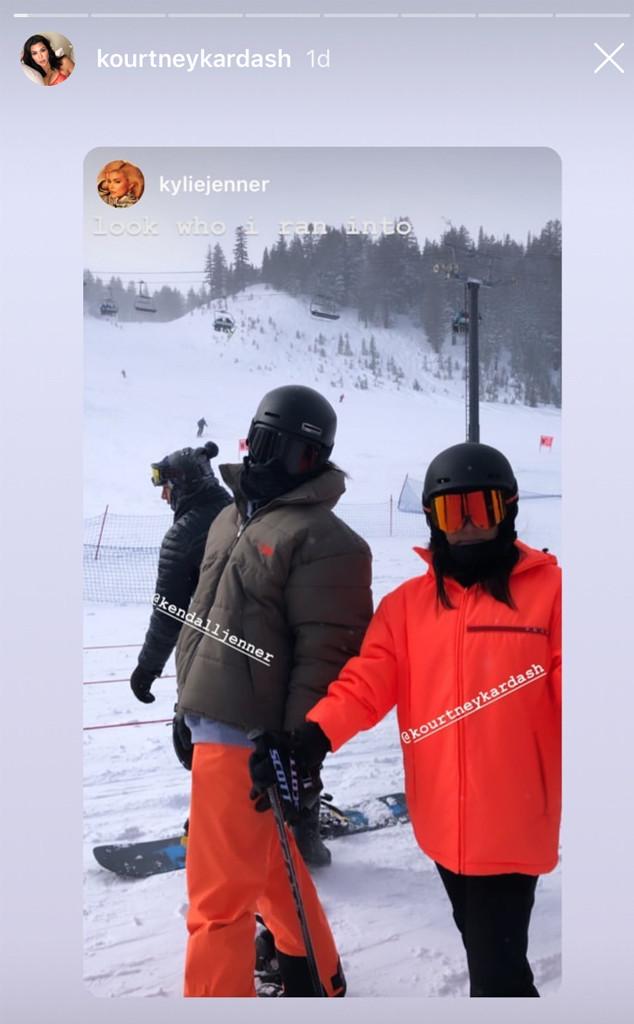 Kourtney Kardashian, Kendall Jenner, Kylie Jenner