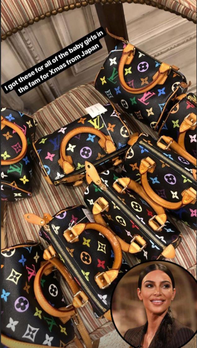 Kim Kardashian, Louis Vuitton Bag