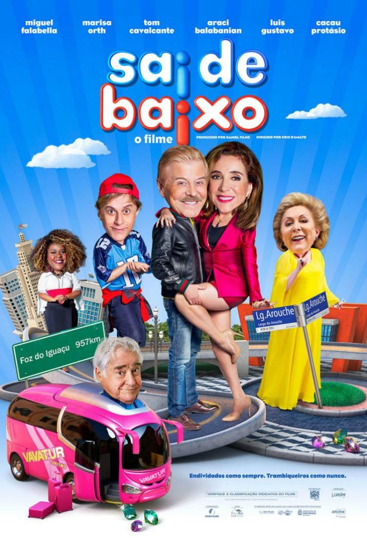 Caco Antibes, Magda e Ribamar estrelam trailer de Sai de Baixo - o Filme