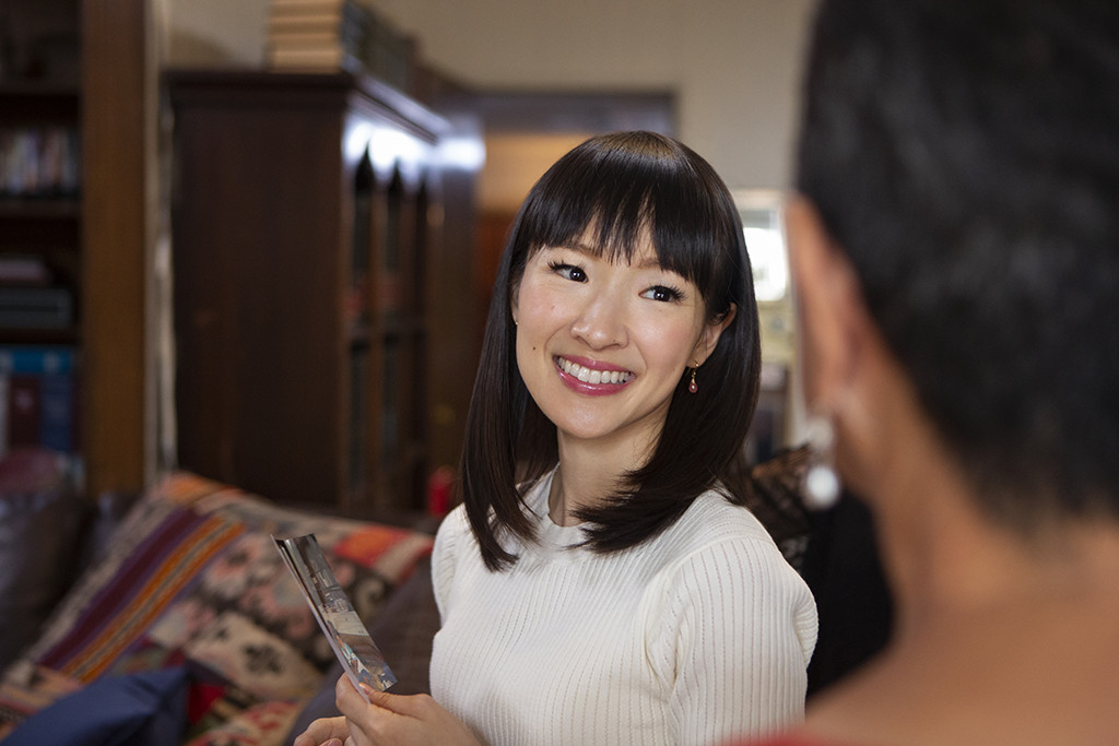 Relax! Marie Kondo Says You Can Keep Your Books