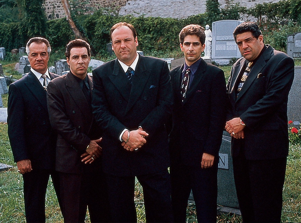 Tony Sirico, Steven Van Zandt, James Gandolfini, Michael Imperioli, Vincent Pastore, The Sopranos