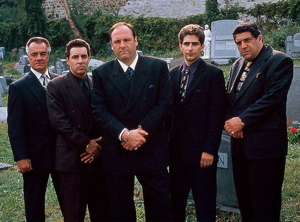 Tony Sirico, Steven Van Zandt, James Gandolfini, Michael Imperioli, Vincent Pastore, The Sopranos