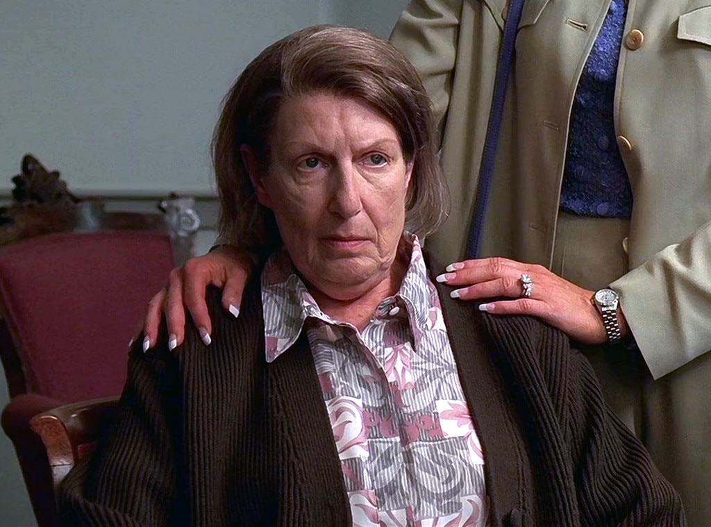 """Nancy Marchand,  The Sopranos  -  By the time creator  David Chase  has cast  Nancy Marchand  in his HBO magnum opus as Livia Soprano, the tough-as-nails mother to  James Gandolfini 's Tony Soprano, he knew that their days together would be limited. """"She had cancer the whole time we worked with her, but it was not spoken of,"""" co-star  Edie Falco  told Vanity Fair in 2012. """"Nancy said to David, 'Please keep me working. That's keeping me alive.'"""" When Marchand eventually did succumb to her lung cancer and emphysema in 2002, Chase and his writers were already at work on scripts for the third season. With Tony's relationship with his mother so central to his story, he felt compelled to write her death into the show."""