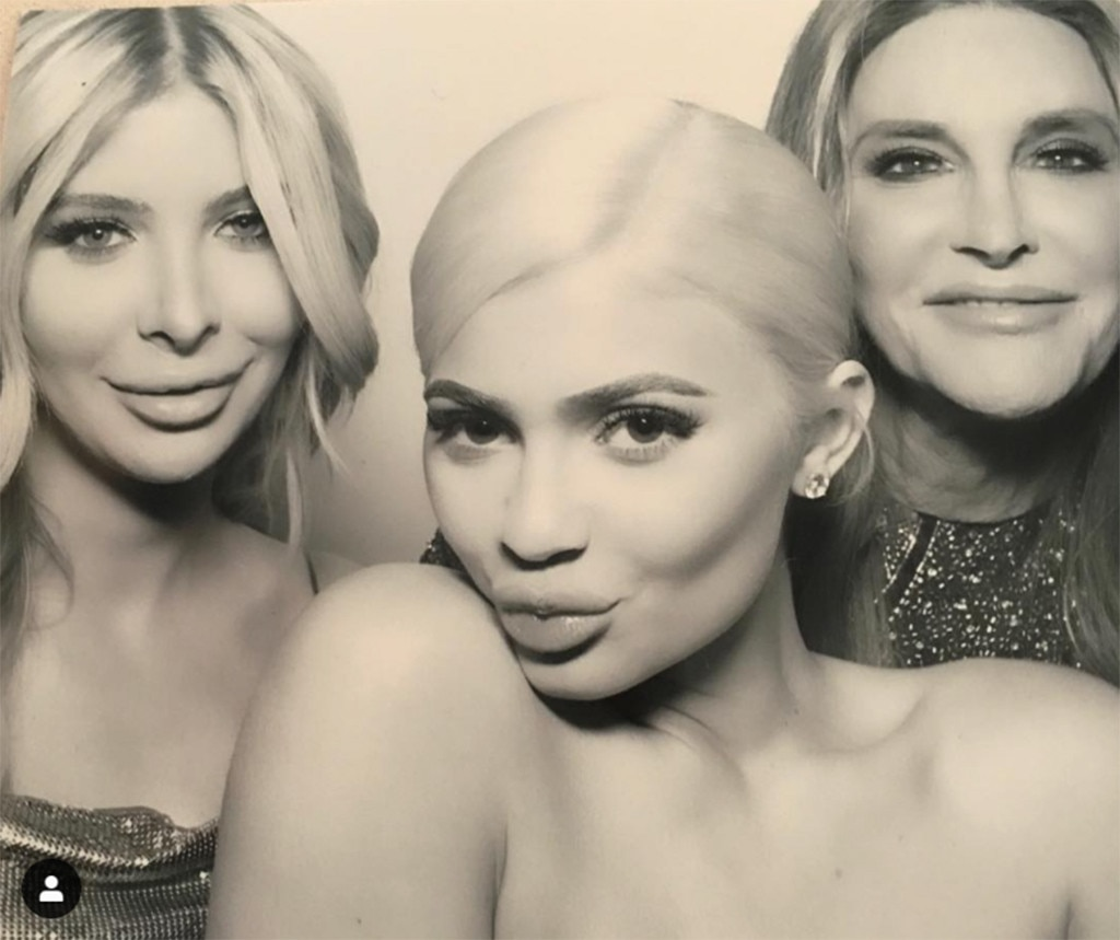 "Photo Booth Fun -  ""Had so much fun in the photo booth at @kyliejenner's birthday party!"""