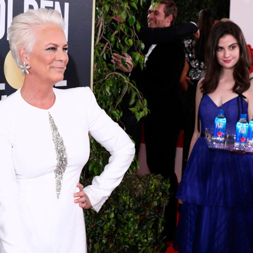 Still Thirsty? Look Back on Fiji Water Girl's Epic Photobombs at the Golden Globes