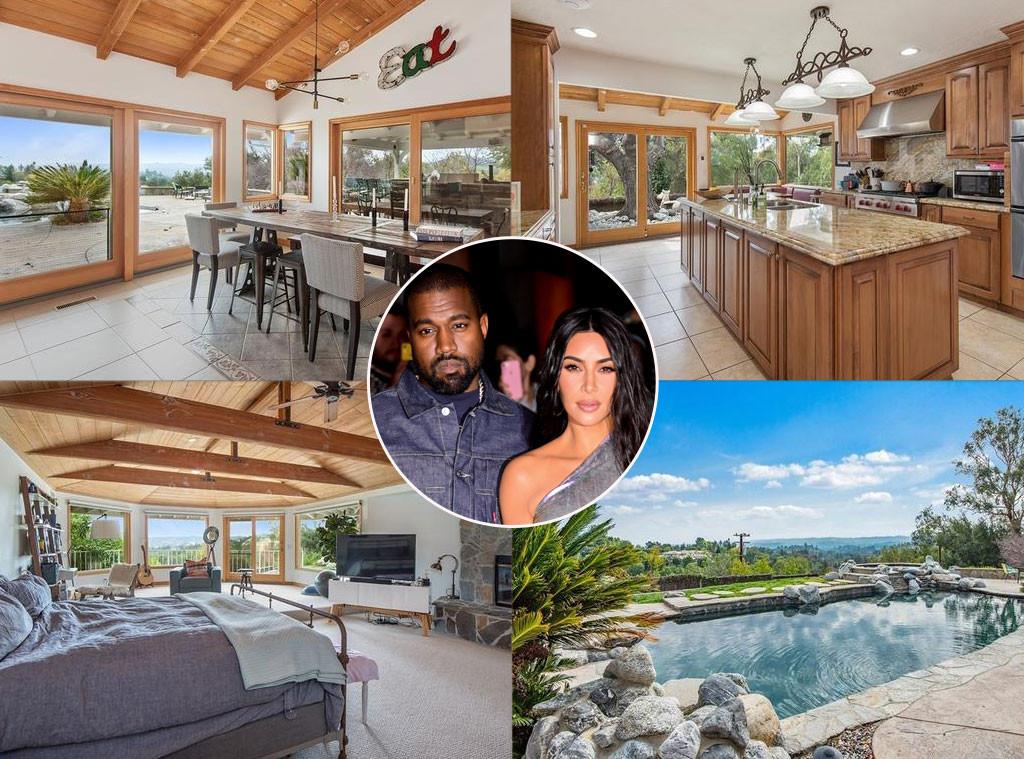 Kim Kardashian And Kanye West Drop 3 Million To Expand Their Estate E Online