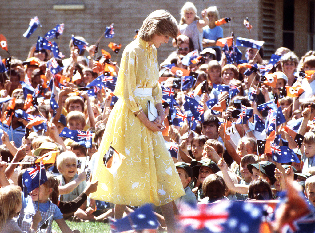 Princess Diana, Crowds
