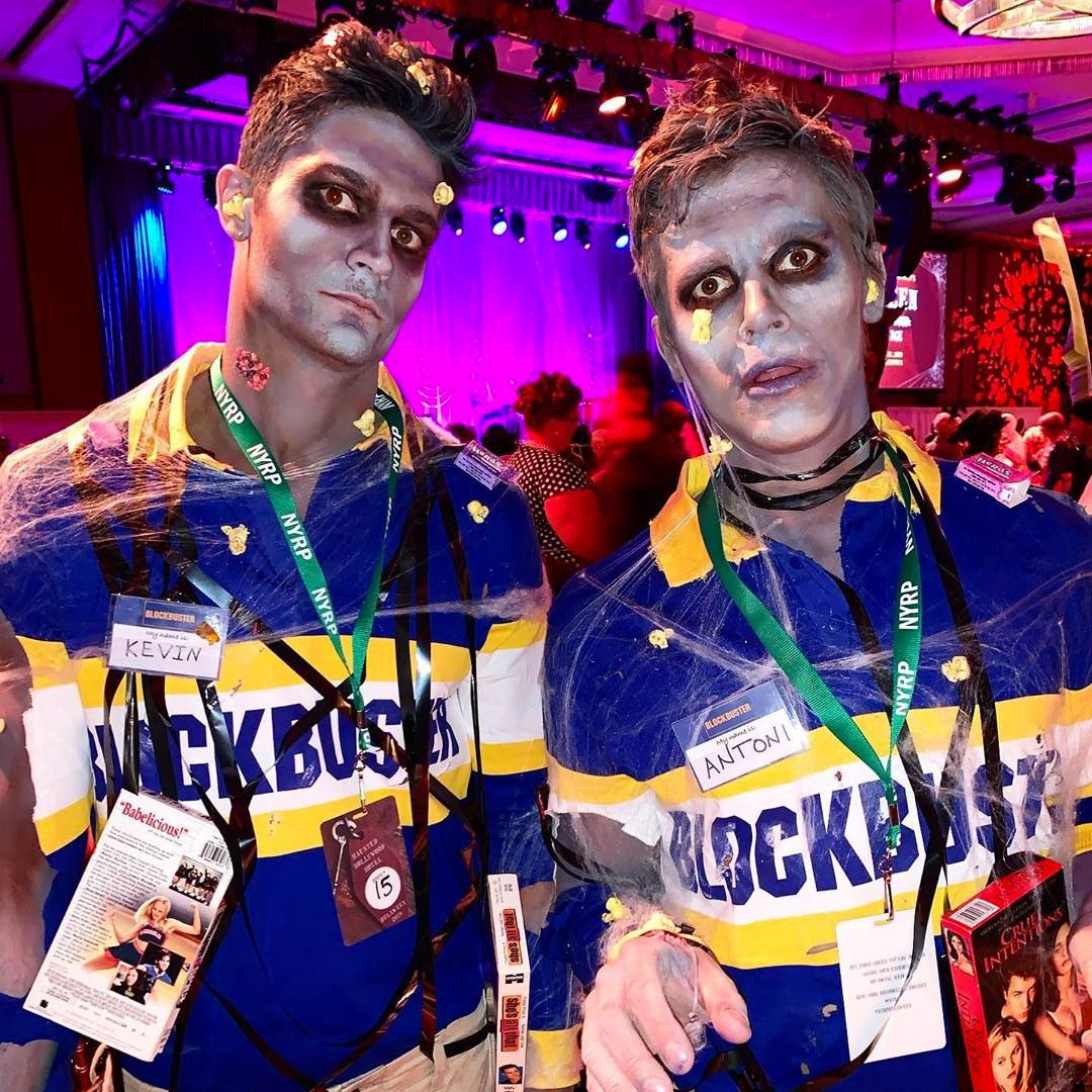 Antoni Porowski, Kevin Harrington, Halloween 2019