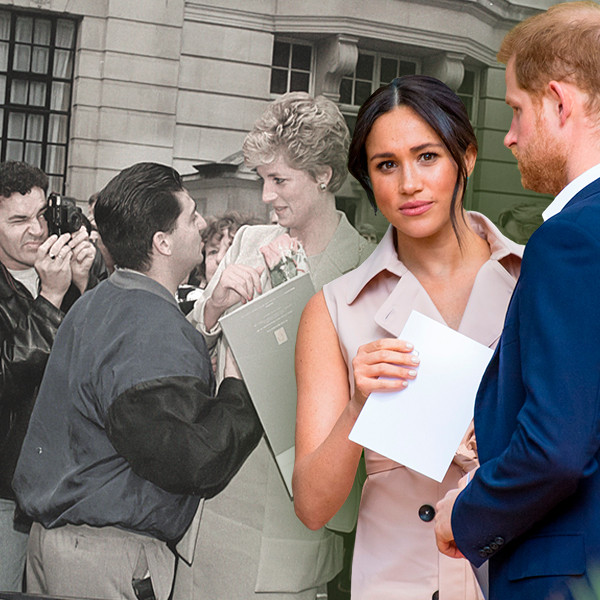 What Actually Happened to Princess Diana—and Why It's Not Happening to Meghan Markle