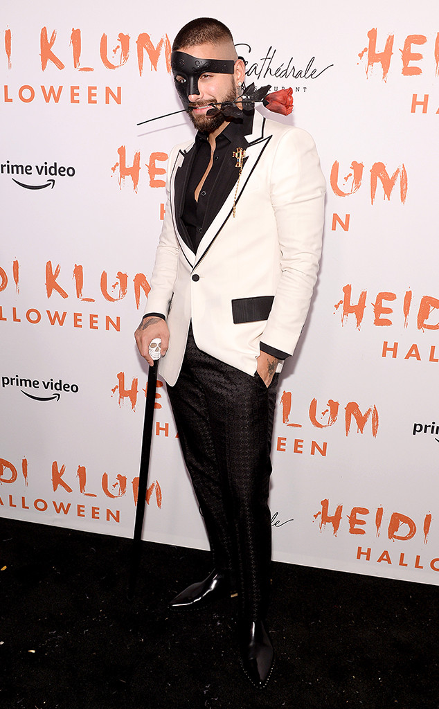 Maluma, Heidi Klum's 20th Annual Halloween Party