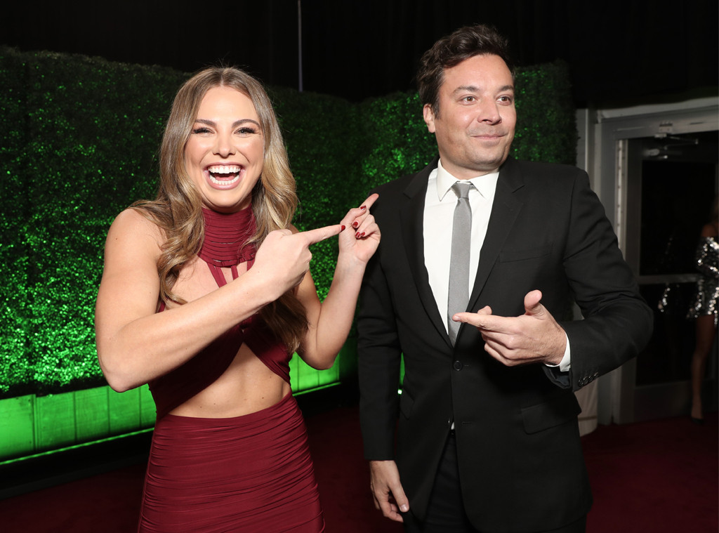 Hannah Brown, Jimmy Fallon, 2019 E! People's Choice Awards, Candids