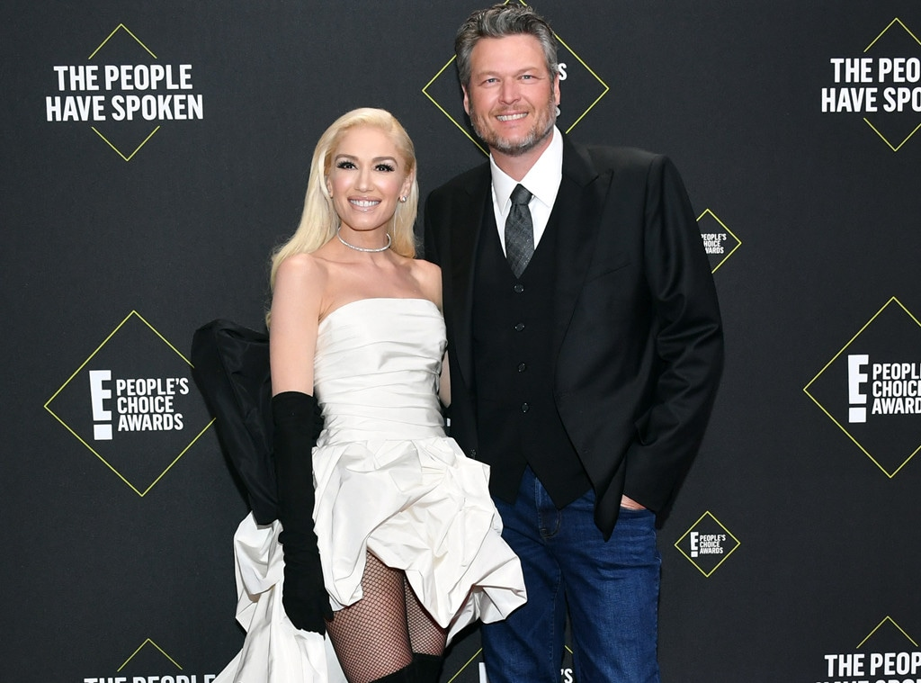 Gwen Stefani, Blake Shelton, Jaw-droppers, 2019 E! People's Choice Awards