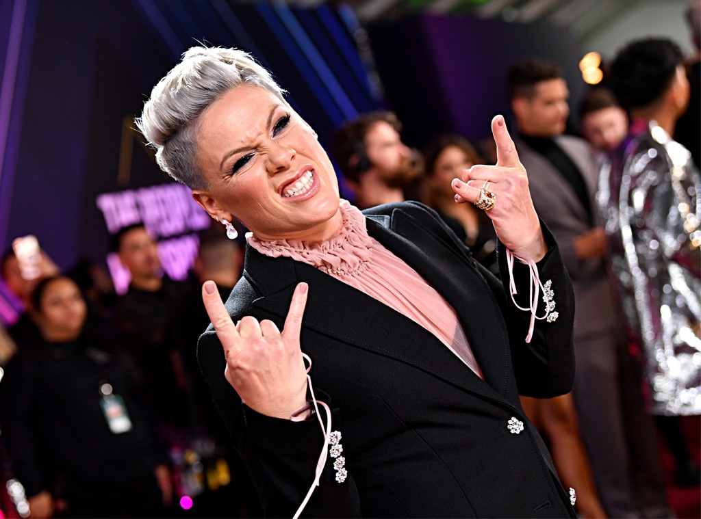 Pink, 2019 E! People's Choice Awards, Candids