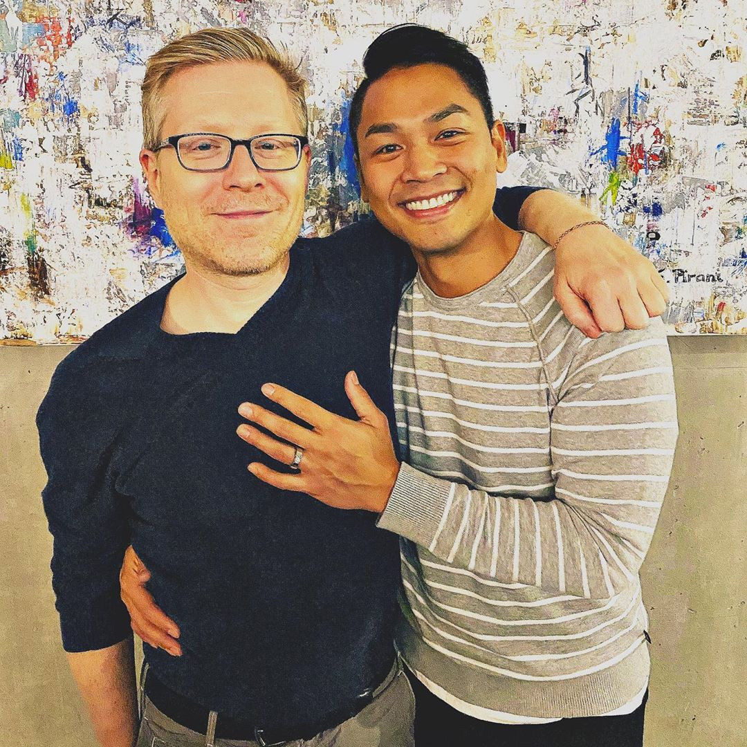 Anthony Rapp, Ken Ithiphol, Instagram