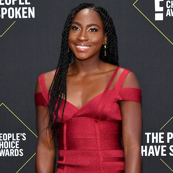"""Tennis Star Coco Gauff Admits She Thought She """"Would Lose"""" Against Venus Williams at the People's Choice Awards"""