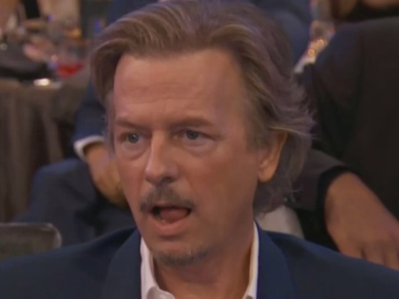 David Spade Hilariously Trolls His Awkward Reactions From the 2019 People's Choice Awards