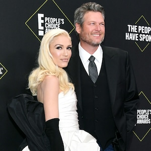 Gwen Stefani, Blake Shelton, 2019 E! People's Choice Awards