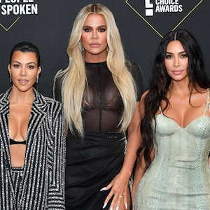 Kris Jenner, Kourtney Kardashian, Khloe Kardashian, Kim Kardashian, 2019 E! People's Choice Awards, families