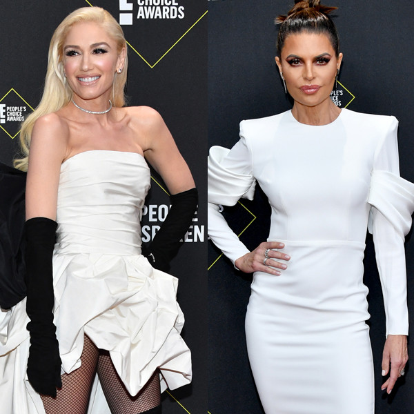 People's Choice Awards 2019 White Statement Dress Trend: Get the Look